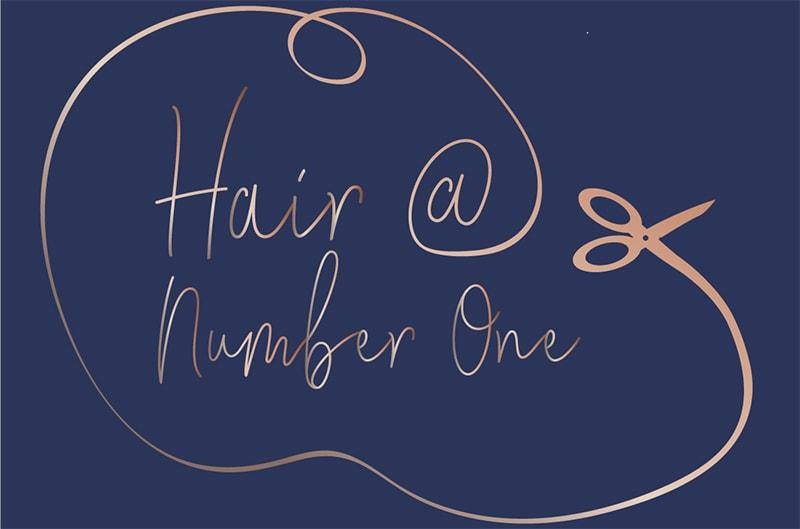 Hairdresser Islip Hair @ Number One Logo